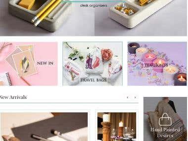 Gift Ecommerce in Wordpress