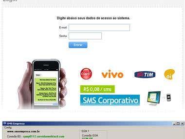 Servidor SMS / SMS Gateway
