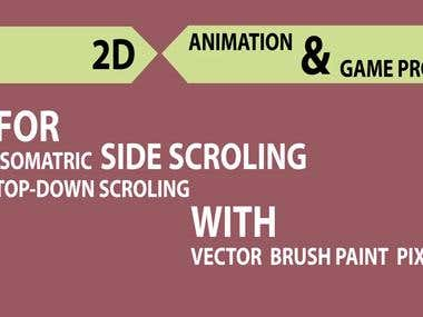 Brush Paint Game assets