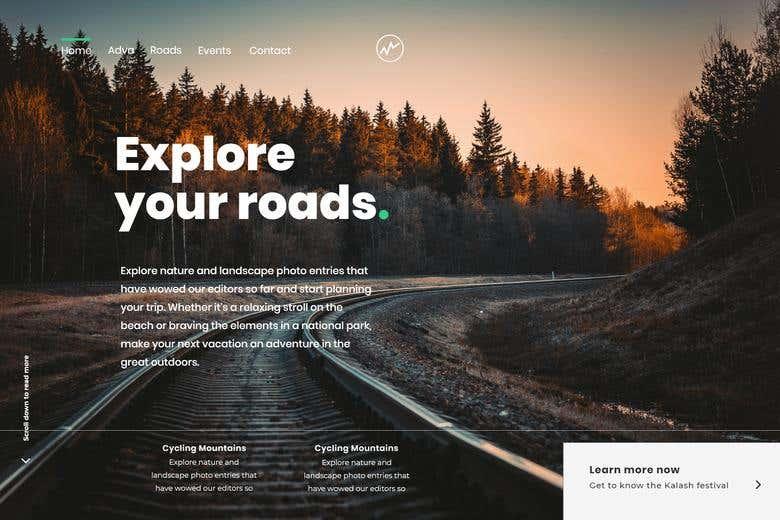 Travel Agency Website Design | Freelancer