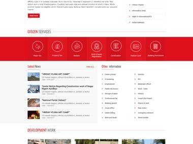 Nagarpalika Website