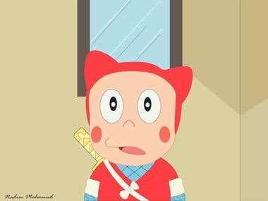 Cartoon character design..