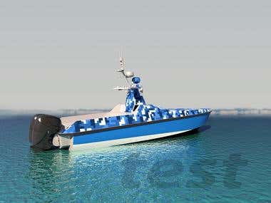 Boat render