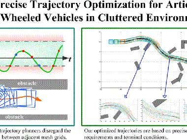 Matlab trajectory planning and optimization