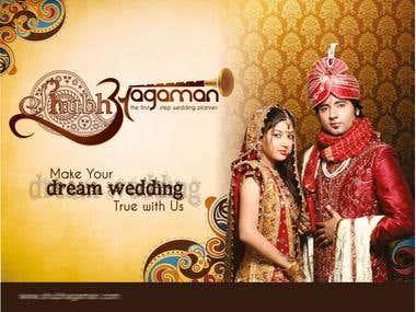 Wedding Planner Logo + CID + Ads + Website