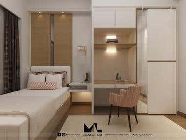 Interior design of Small Room Renovation