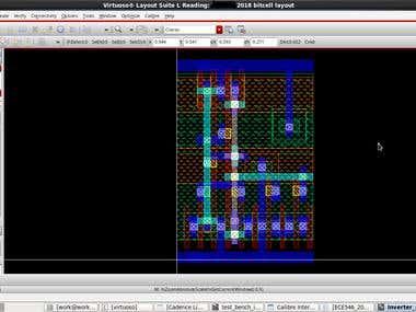 8T SRAM bit cell design in NCSU 15nm PDK