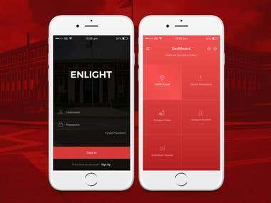 Enlight App Design