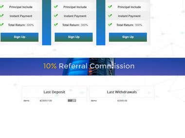 Complete investment management system pricing table