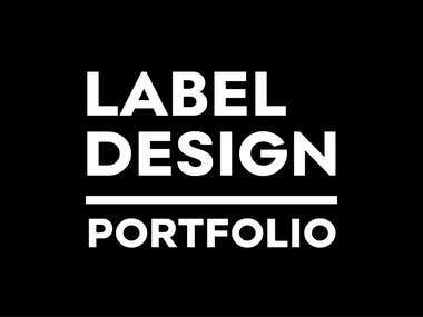 LABEL DESIGN & PACKAGING PROJECTS - Vol.1
