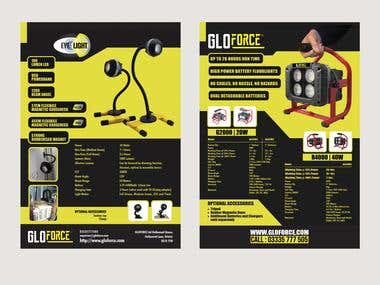 Flyer design (two different pieces)