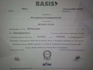 Dot Net Certificate