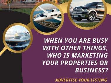 SaleTradeRent Promotional Flyer