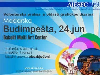 AIESEC poster design