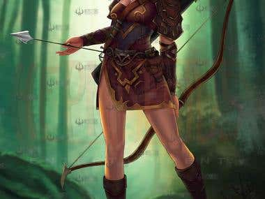 Archer female character