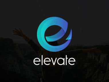 Logo Design for a Startup named 'Elevate'