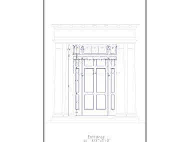 architectural detail drawings