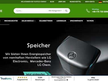 FlexTech Energy: Leading German Solar Products Online Store