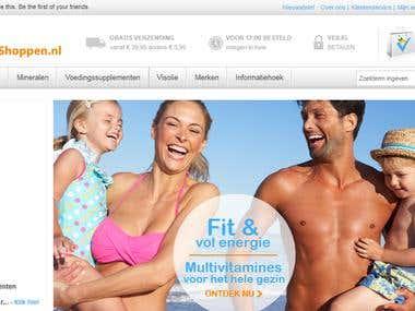 A Dutch online vitamine shop