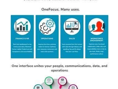 Branding, Website & Copywriting: SaaS Software