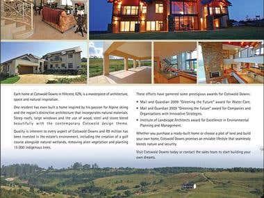Real Estate advert