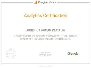 Google Anyltics Certification
