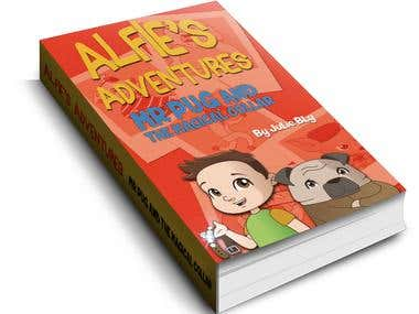 """Alfie´s Adventures"" Cover Design"