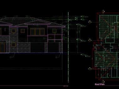 Beach house design project