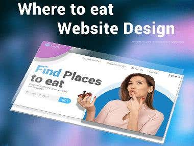 Where to eat website design