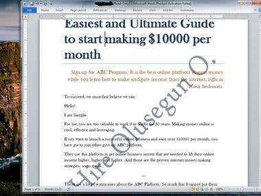 Want a sales copywriter, check this