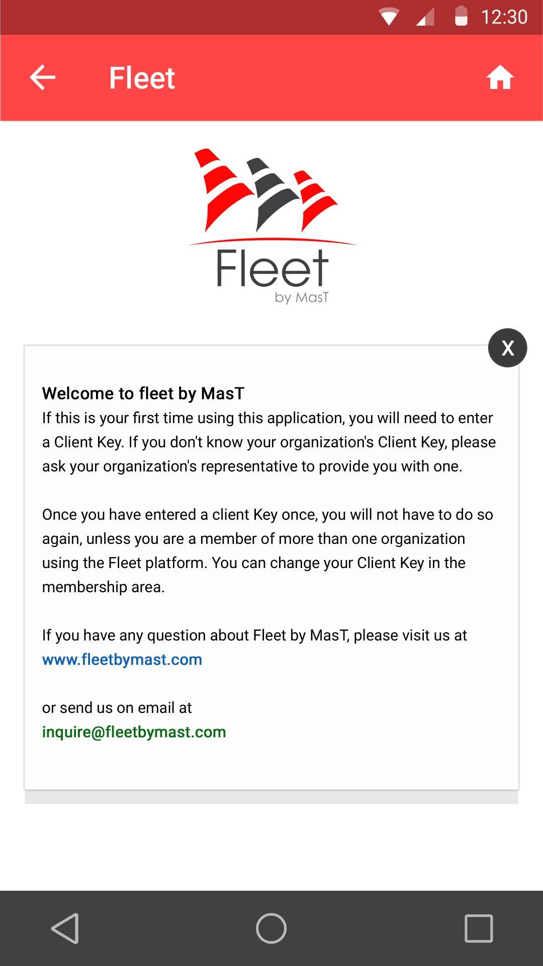 Fleet Mobile App
