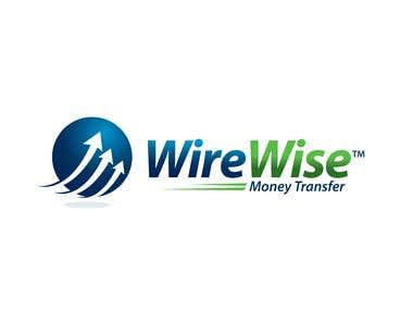 Logo for a global money transfer business