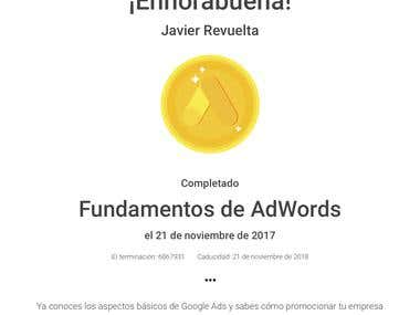 Certificado en Fundamentos de Google Ads