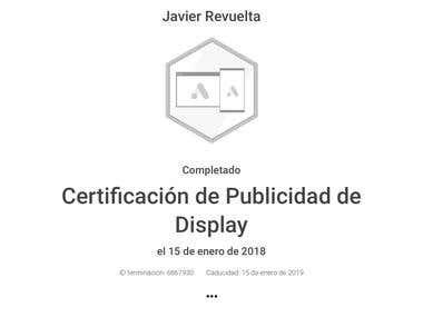 Certificado en Publicidad de Display