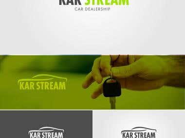 "Logo design for ""KAR STREAM"""