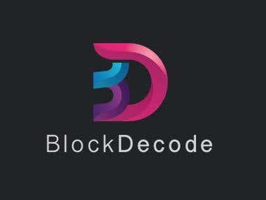 "Logo Design for ""BLACK DECODE""."
