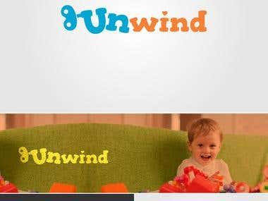 "Logo design for a street wear clothing brand ""Unwind""."