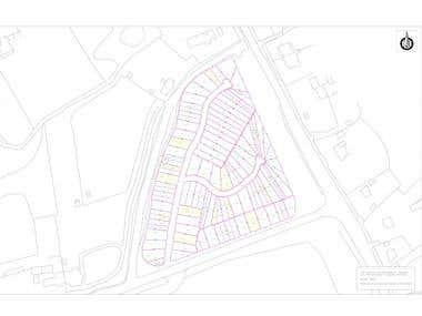 Georeferencing and Digitalization using GIS and Autocad.