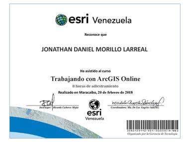 Esri Venezuela / ArcGIS Online Certificate