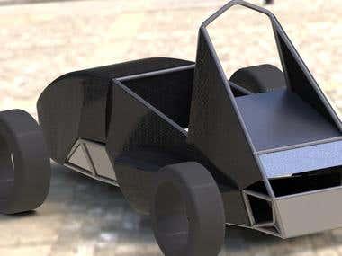 EV body modelling at SolidWorks (Sample #02)