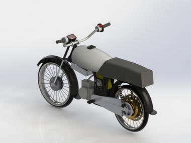Hybrid Bike render (Sample #03)