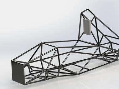 EV Chassis render (Sample #04)