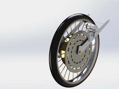 Wheel Assembly render (sample #05)