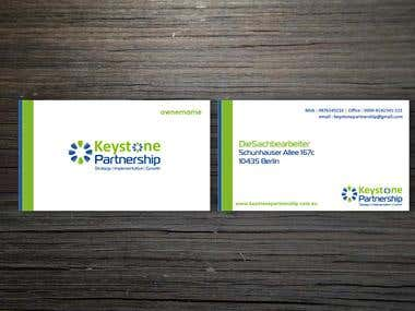 Keystone Businesscard