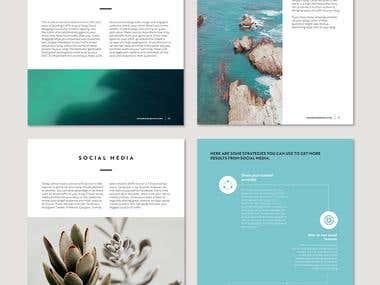 EBook/Brochure/Flyer Designs/White Paper/Word Template