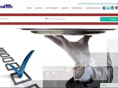 Busy Less - Classified Services Website
