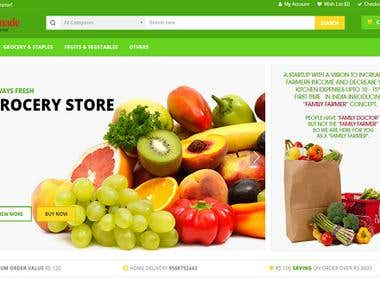 Kisan Made -eCommerce Website