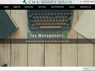 Website For Legal Firm
