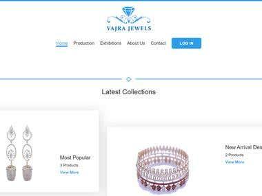 Jeweler Website and CMS