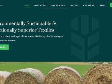 Fibrelabs - Website and CMS
